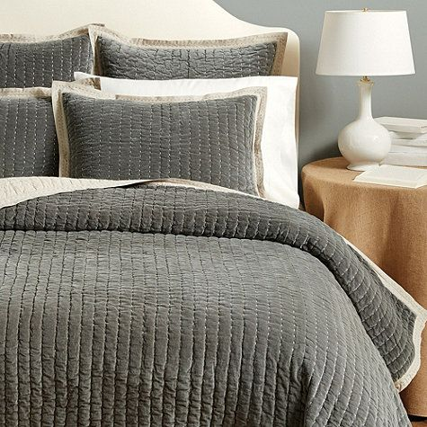 Lucca Velvet Stitched Quilted Bedding Luxurious Bedrooms