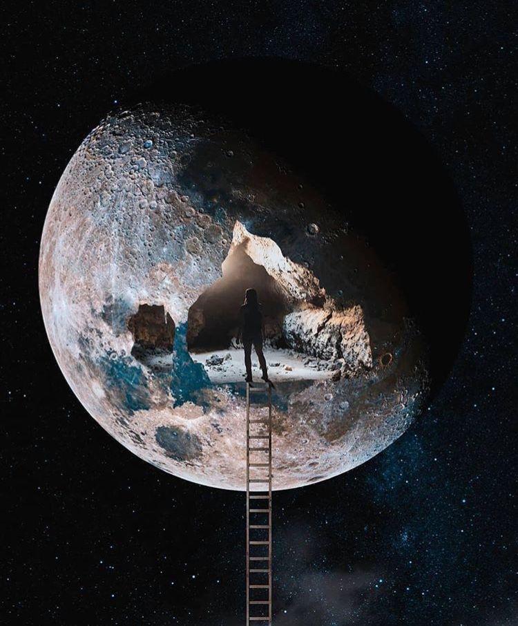 Space Spaceship Astronaut Astronomia Nebula Galaxy