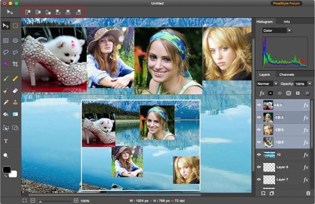 PixelStyle Photo Editor for Mac is an excellent Mac photo