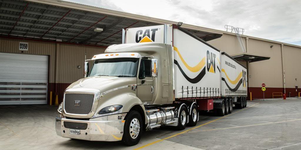 Cat Ct680 Google Search Trucks Big Trucks Road Train