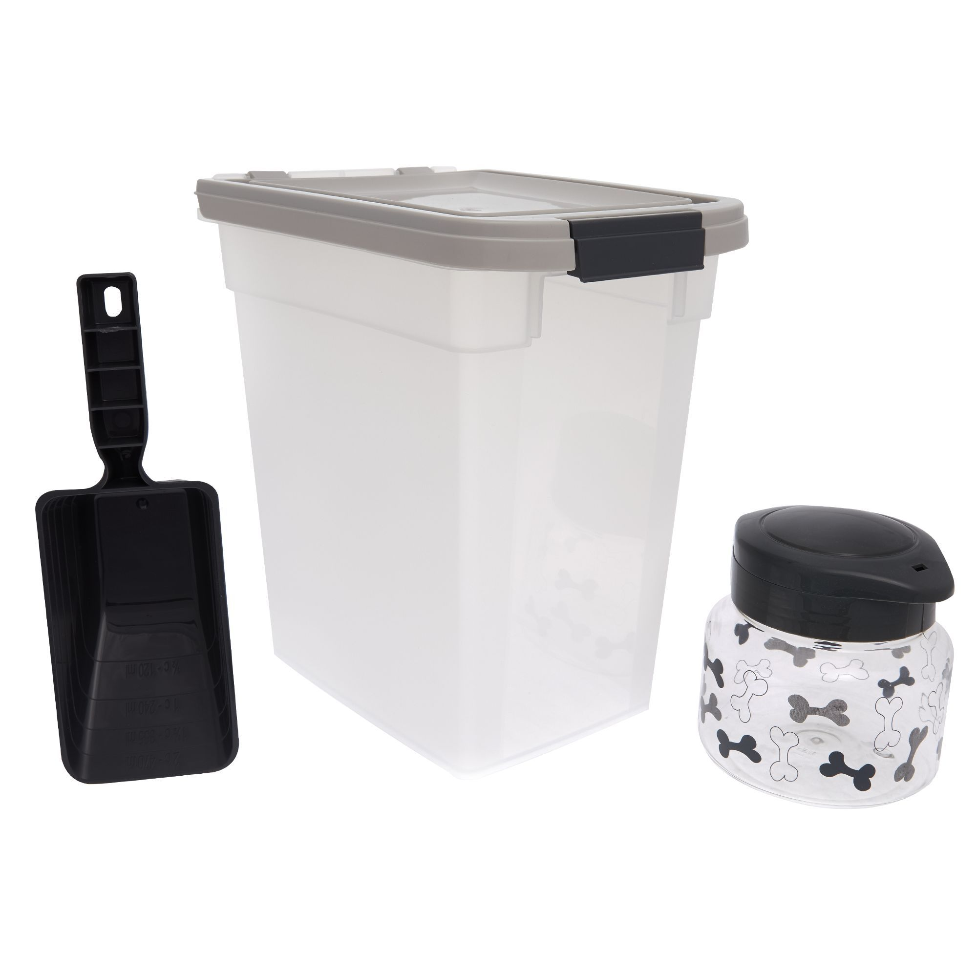 Top Paw Airtight Food Storage Combo Kit Size 10 Lb Food Storage