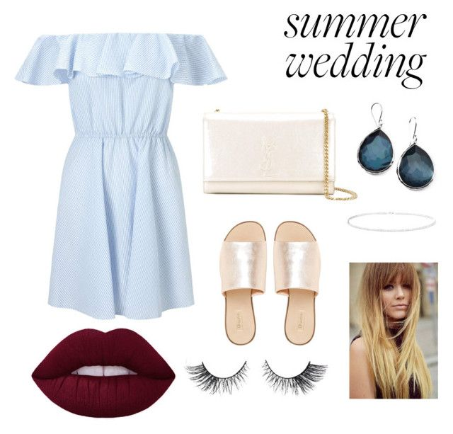 Yves saint laurent dress polyvore summer