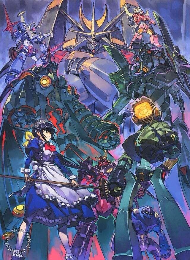 Crossover (With images) Anime, Anime art, Gurren lagann