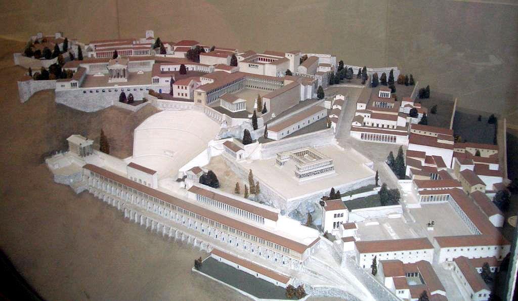 Pergamon Pergamon Pergamon Museum Ancient Greek City