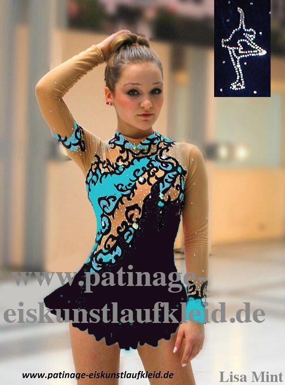 Figura de patinaje sobre hielo vestido roller skater for Espectaculo artistico de caracter excepcional
