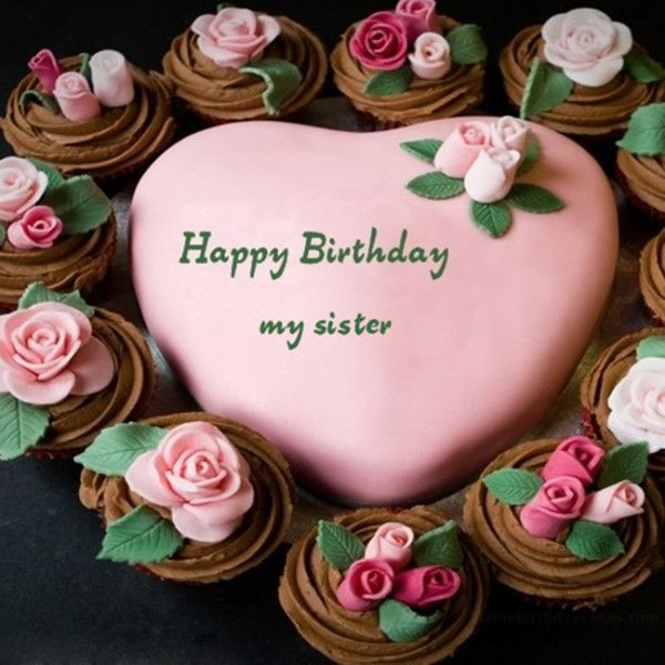 Birthday Cake For Sister 1 Sister Kuchen Geburtstag