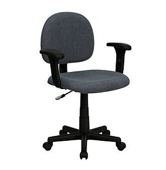 office chair upholstery fabric round living room chairs flash furniture low back swivel task with adjustable arms