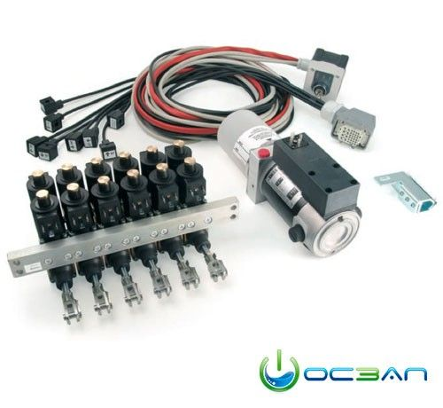 """The """"PWM Hydra system"""" combining electro hydraulic-actuators, with"""