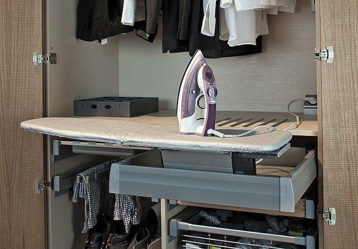 Design Sleuth 6 Sources For Built In Ironing Boards Diseno De Armario Rincon De Lavanderia Tabla De Planchar