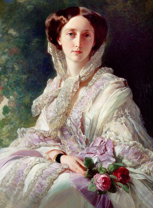 ohosoclassy:    Olga von Württemberg by Winterhalter.