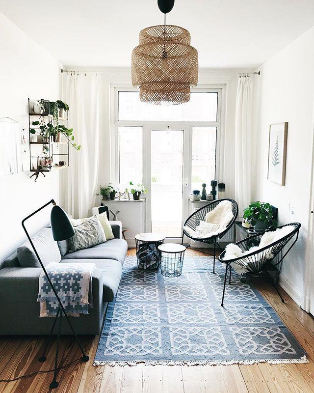 Wohnzimmer Inspiration Mit Acapulco Chairs Und Sinnerlig Lampe Von