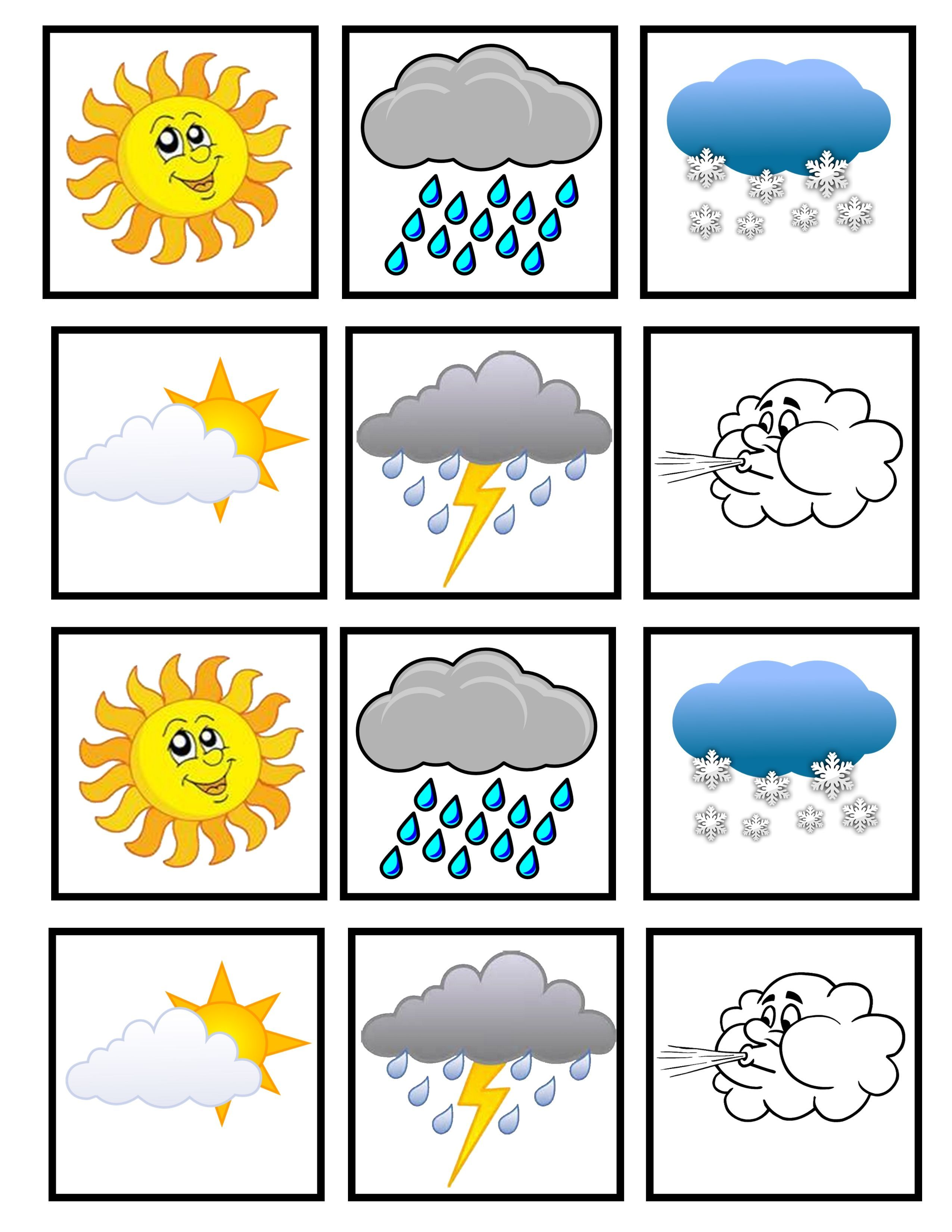 Preschool Weather Image By Lisa Anderson On Teaching