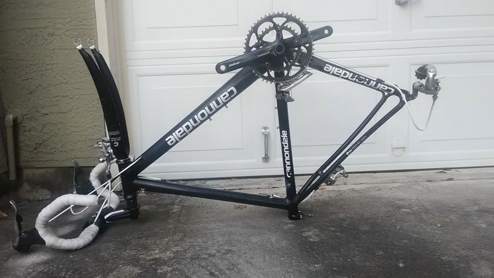 653a6a687dd Cannondale CAAD4 R400 Racing Road Bike / 52cm Frame / Made in the USA