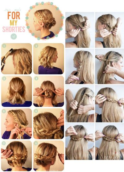 French braid styles. You can create varios hairstyles with french ...