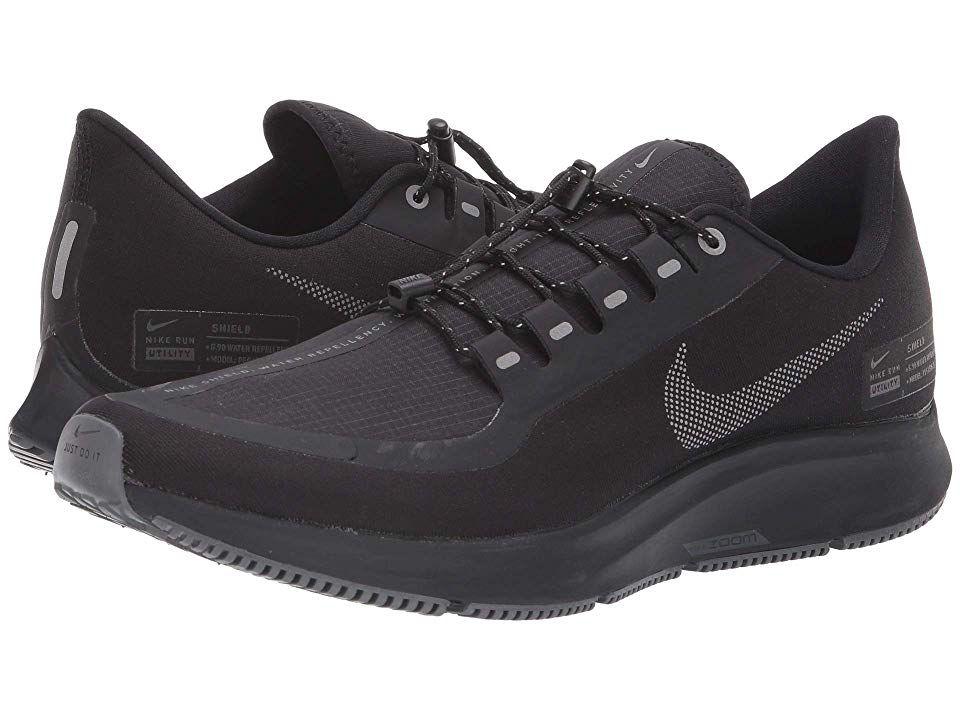 Nike Air Zoom Pegasus 35 Shield Men S Running Shoes Black Anthracite Anthracite Dark Grey Cute Nike Shoes Nike Air Zoom Pegasus Running Shoes For Men