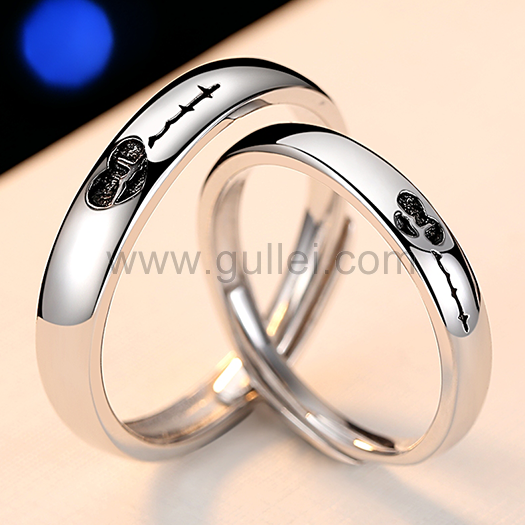 Pin On Couples Wedding Bands