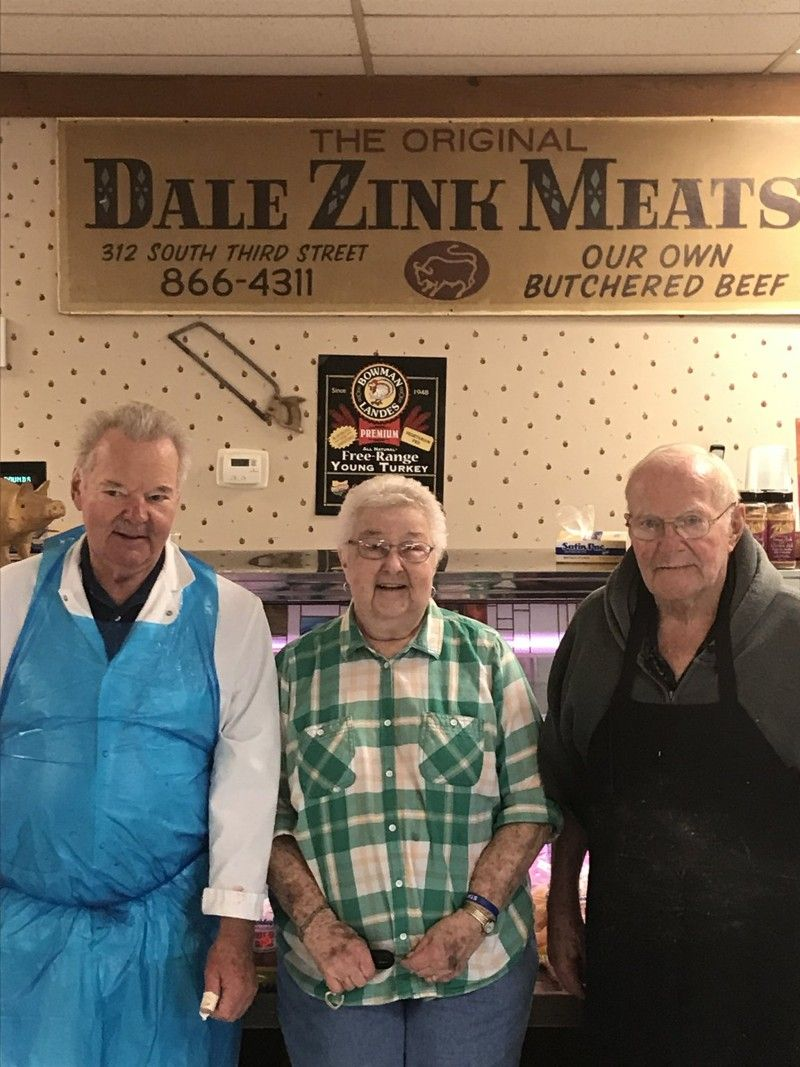 Dale Zink, 78, of Zink Meat Market in Franklin looks back