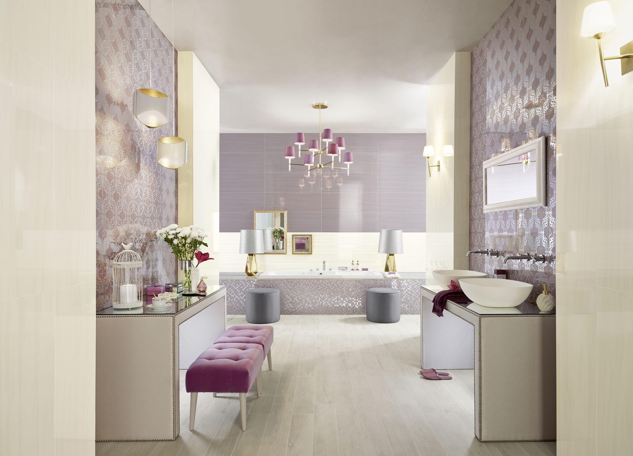 floor and wall tiles from collection parfum by love tiles. Black Bedroom Furniture Sets. Home Design Ideas