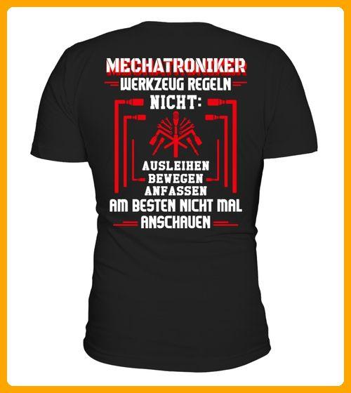 Mechatroniker Werkzeug Regeln TShirt - Auto shirts (*Partner-Link)