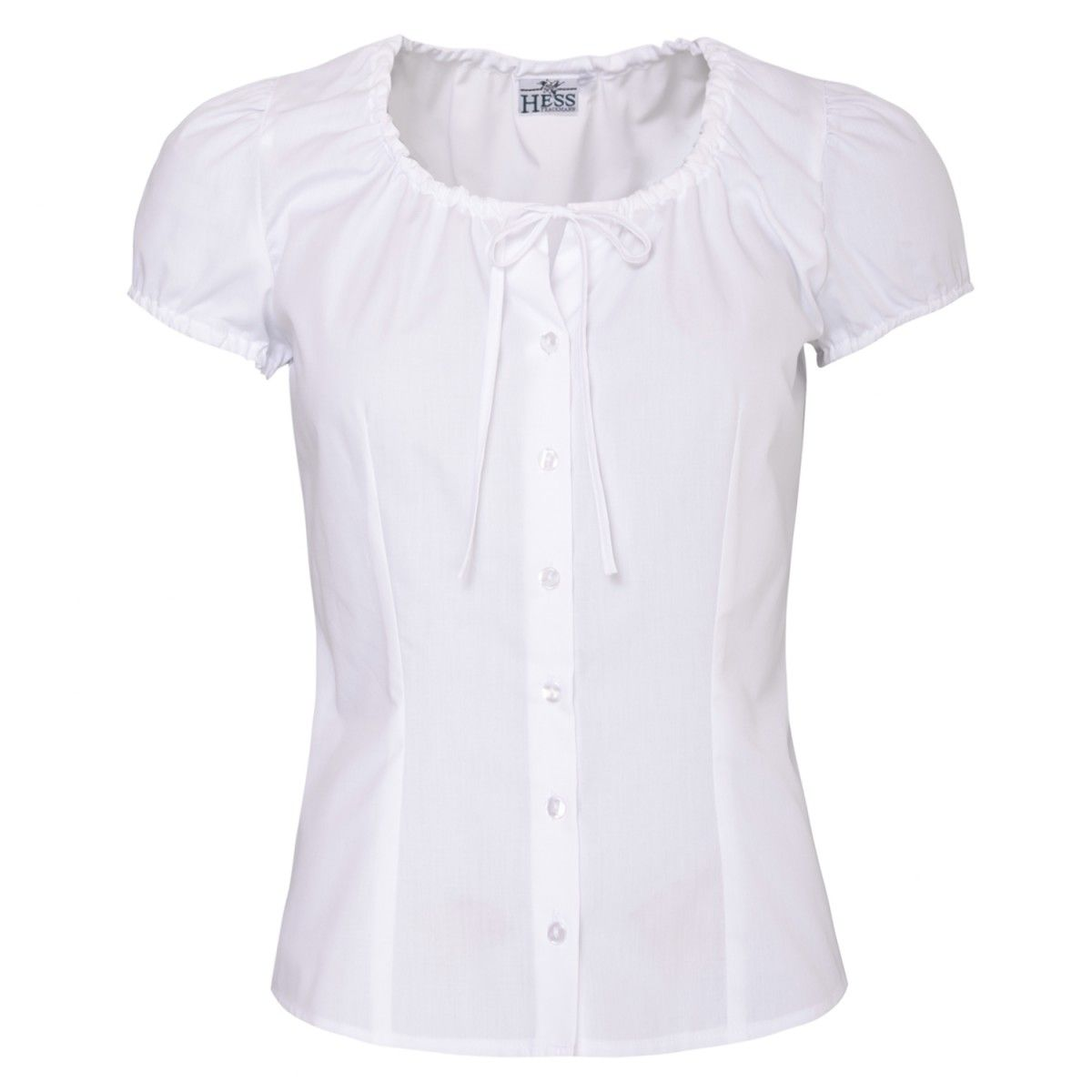 Dirndl Blouse Elisabeth in White from Hess