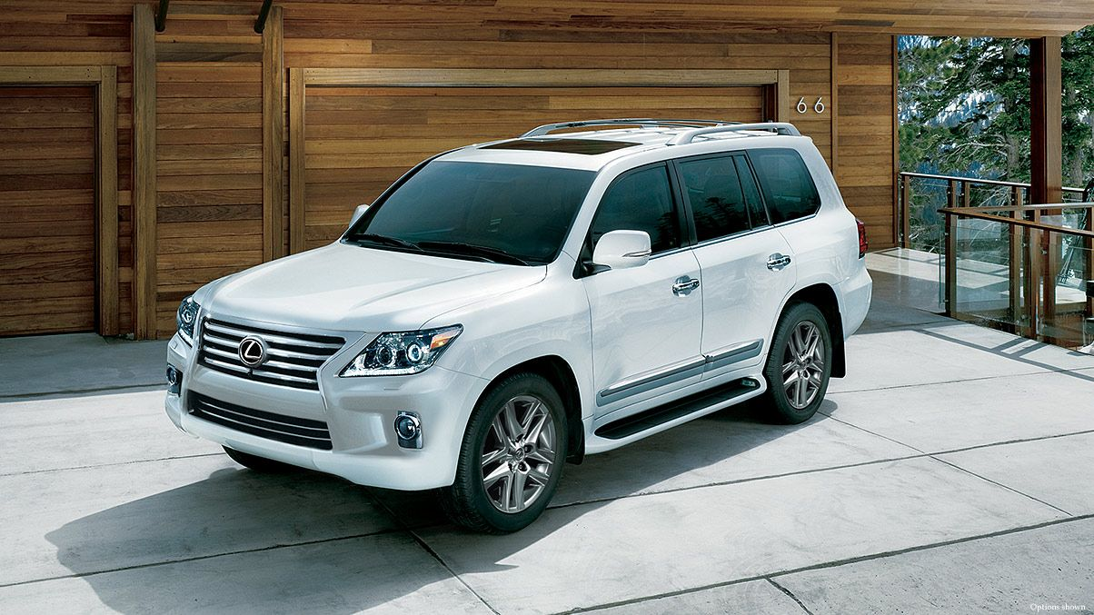 Lexus lx media gallery images