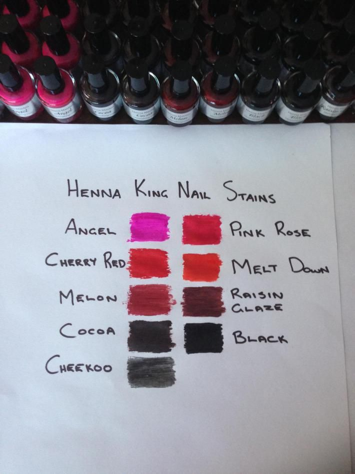 Henna Nail Stains. Wudu Friendly. Halal Approved www.ohsohalal.com ...