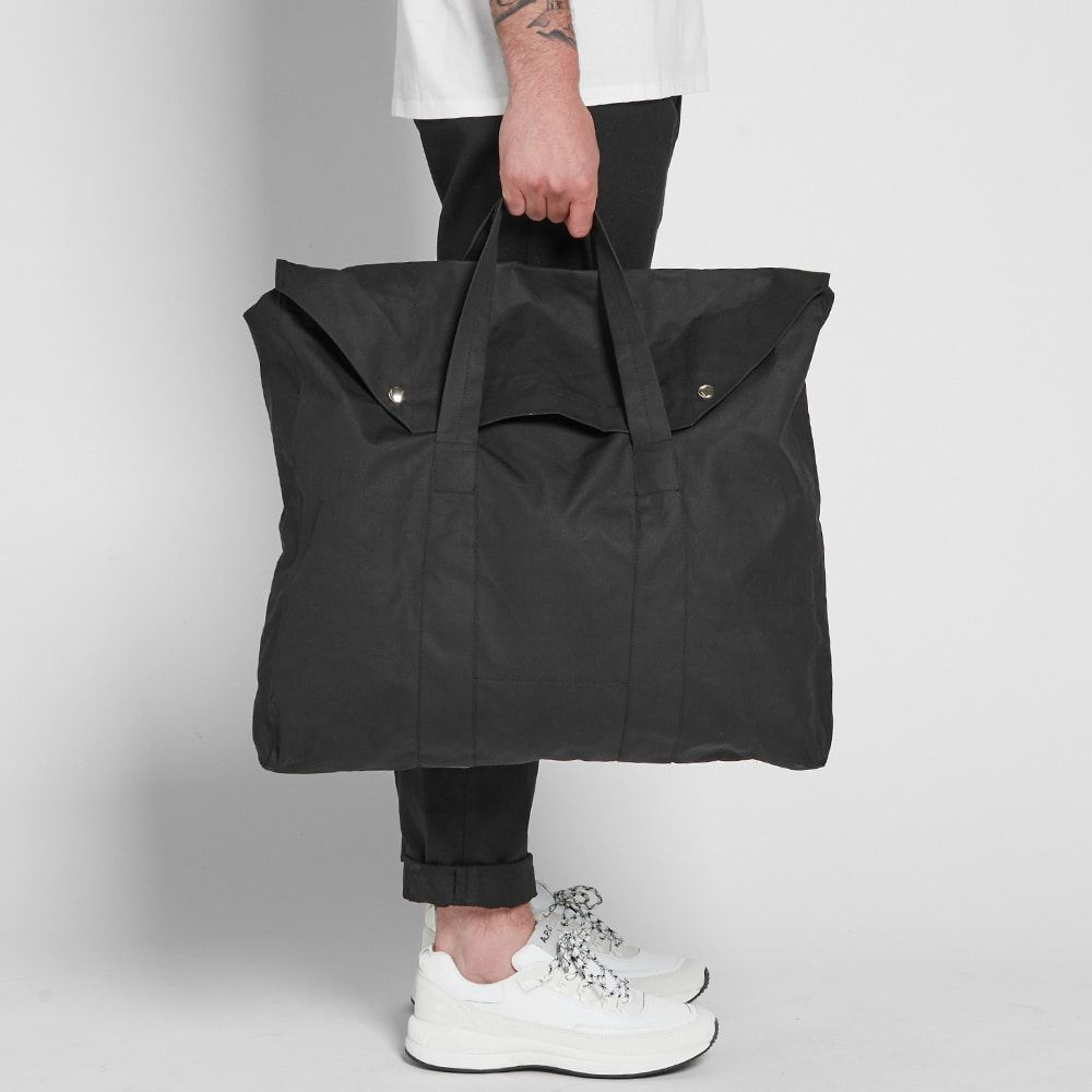 982ba92f0 Our Legacy Canvas Tote Bag Black 8 | Cloth in 2019 | Canvas tote ...