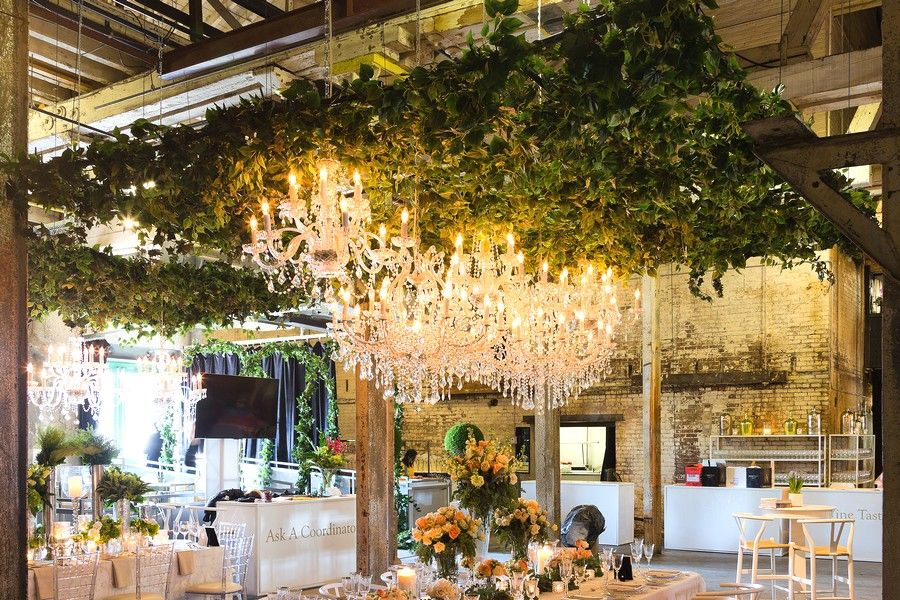 2016 Wedding Open House at The Fermenting Cellar Ceiling