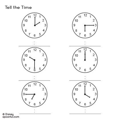 Worksheets Free Printable Telling Time Worksheets time worksheets telling for year 2 preschool tell the and draw numbers