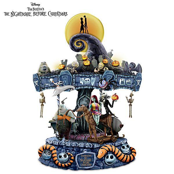 The Nightmare Before Christmas Carousel Tim Burton Jack