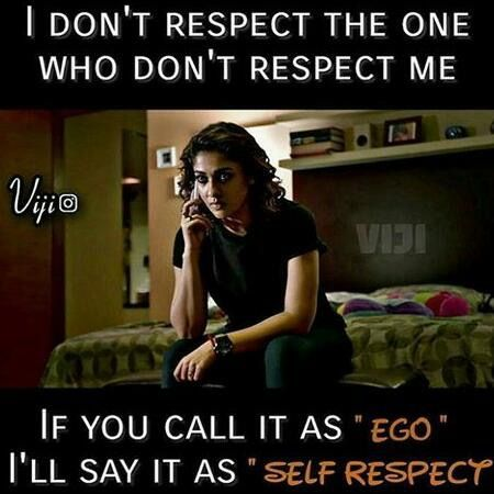 U Call It Selfish I Call It Self Respect Bold Self Respect Be A