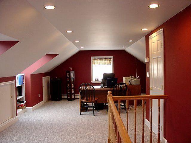 How To Turn Your Attic Into A Living Space Attic Remodel Attic Apartment Attic Design
