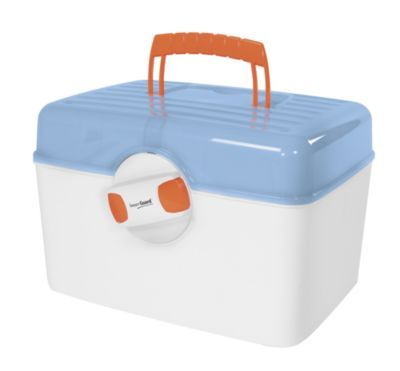 This lockable medical storage unit is ideal if you have children or mentally challenged folks in your home.  And because it's self contained, it's easy to take on trips. (Note: there are some medications that should be stored where there is little or no humidity to retain effectiveness.)