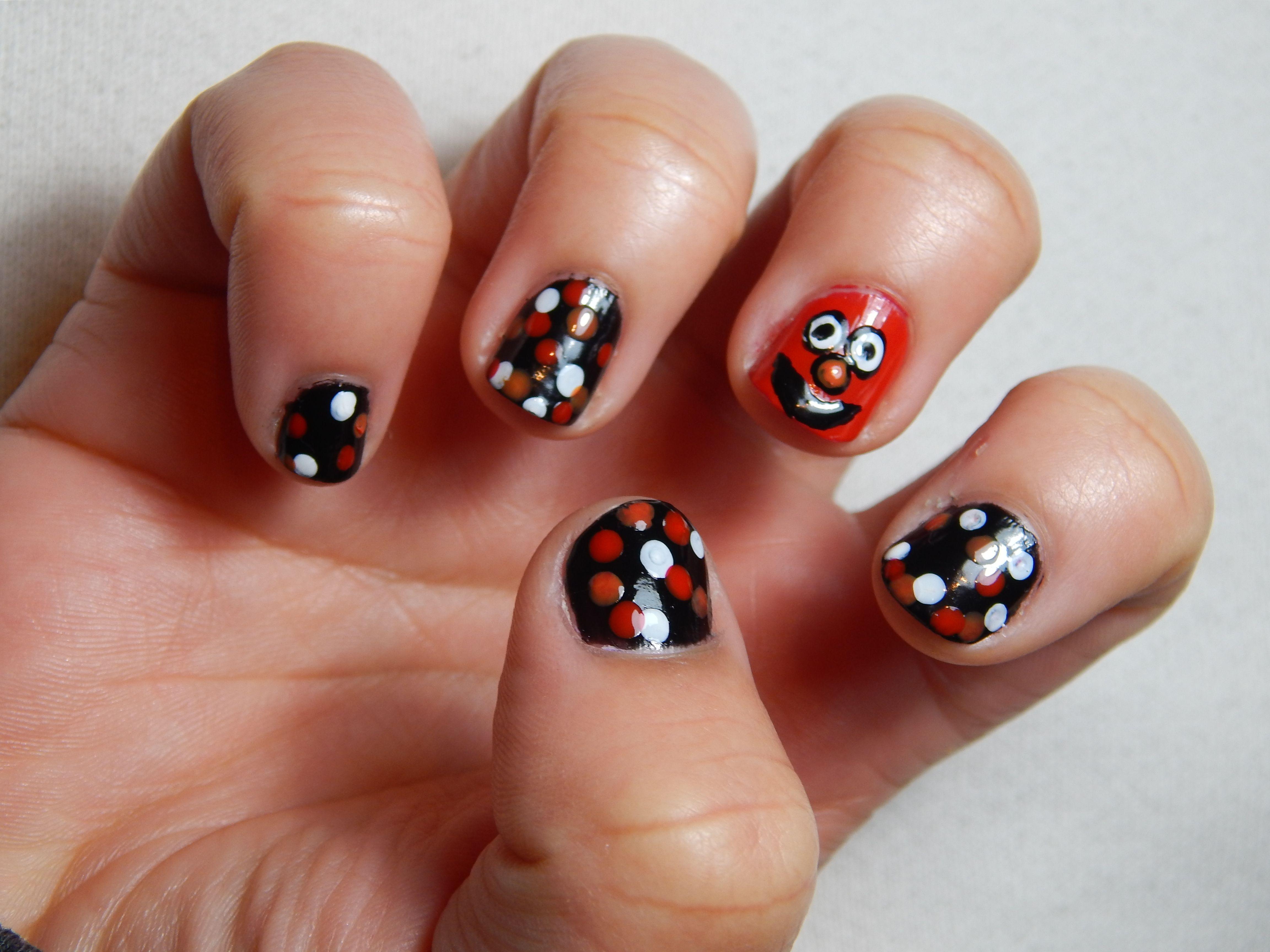 Diseño Elmo | Diseños de uñas | Pinterest | Diseños de uñas