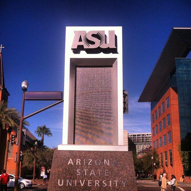 ASU Sun Devils! Future Grad School? That's What I'm