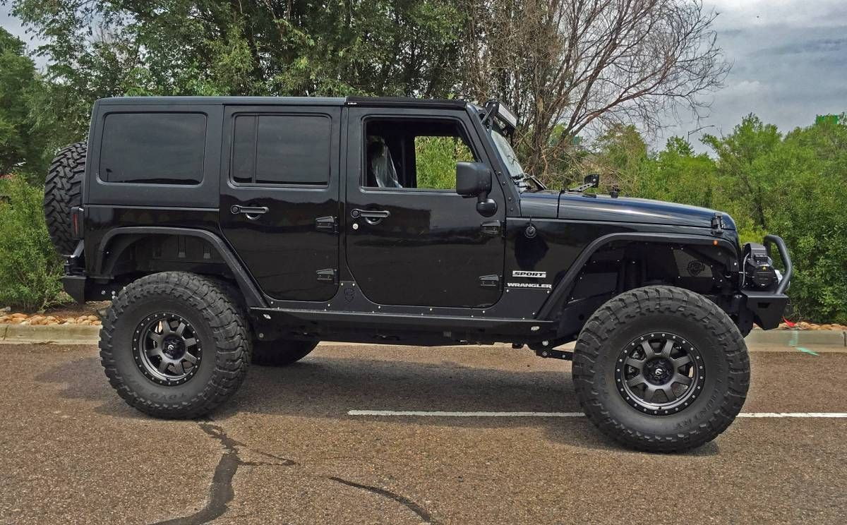 "HCP 4x4 Vehicles 2016 JKU AEV 4.5"" SC Suspension JCR"