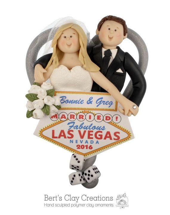 Las Vegas Elopement Ornament
