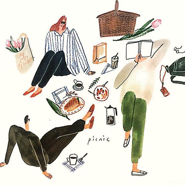 #picnic 봄바람
