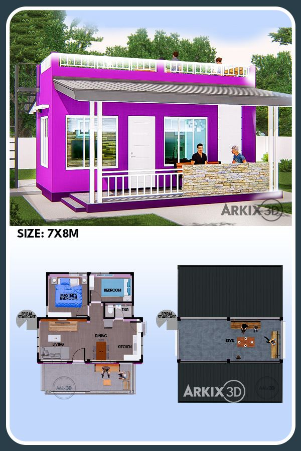 2 Bedroom With Roof Deck And Veranda Vintage House Plans House Layout Design Container House Plans