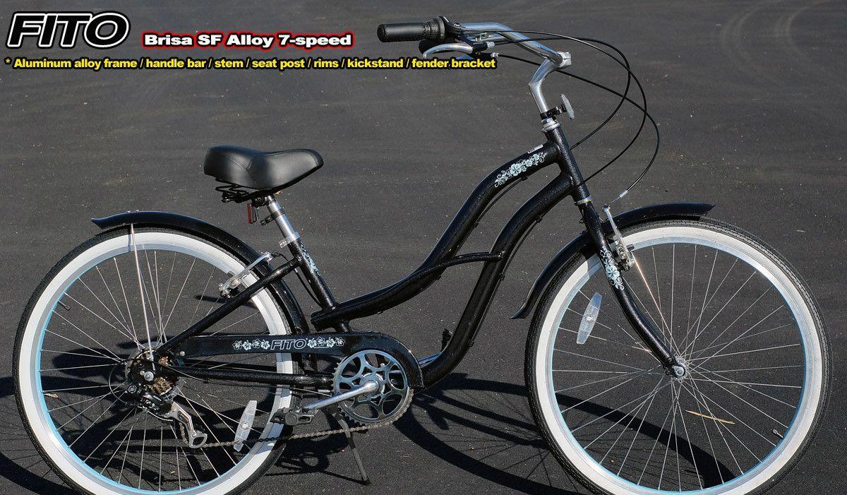 Women\'s Brisa SF Aluminum Alloy 7-Speed Cruiser Bike | Products ...