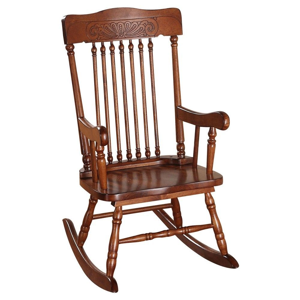 Acme Furniture Kids Rocking Chair Tobacco Black  Products