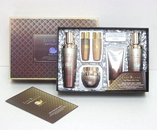 Jant Blanc Snail Mucus Skin Care 4 Item Set Moisture Korean Cosmetics Amazon Best Buy Korean Cosmetics Skin Care Skincare Set