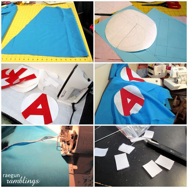 Quick and Easy Super Hero Cape Tutorial - Rae Gun Ramblings