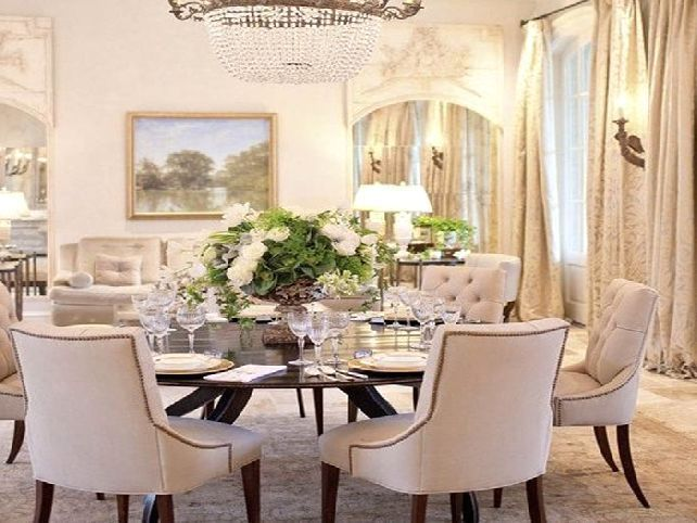 Dining Room Round Tables For 6 Luxury With Chairs White Leather Ikea Chandeilers