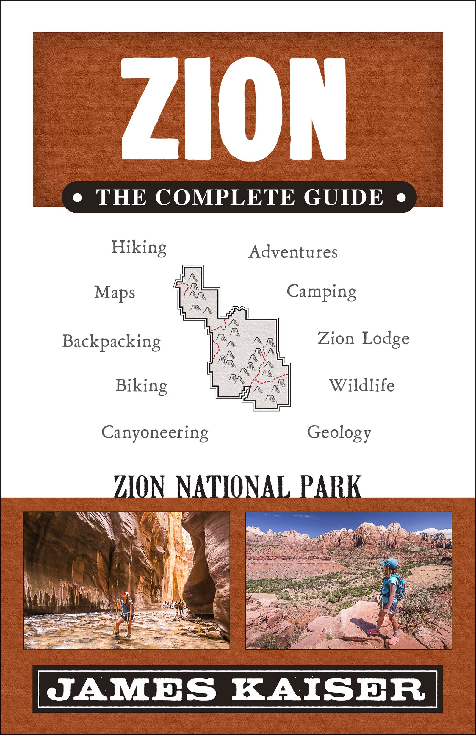 Full Color Guidebook To Zion National Park In Utah Filled With