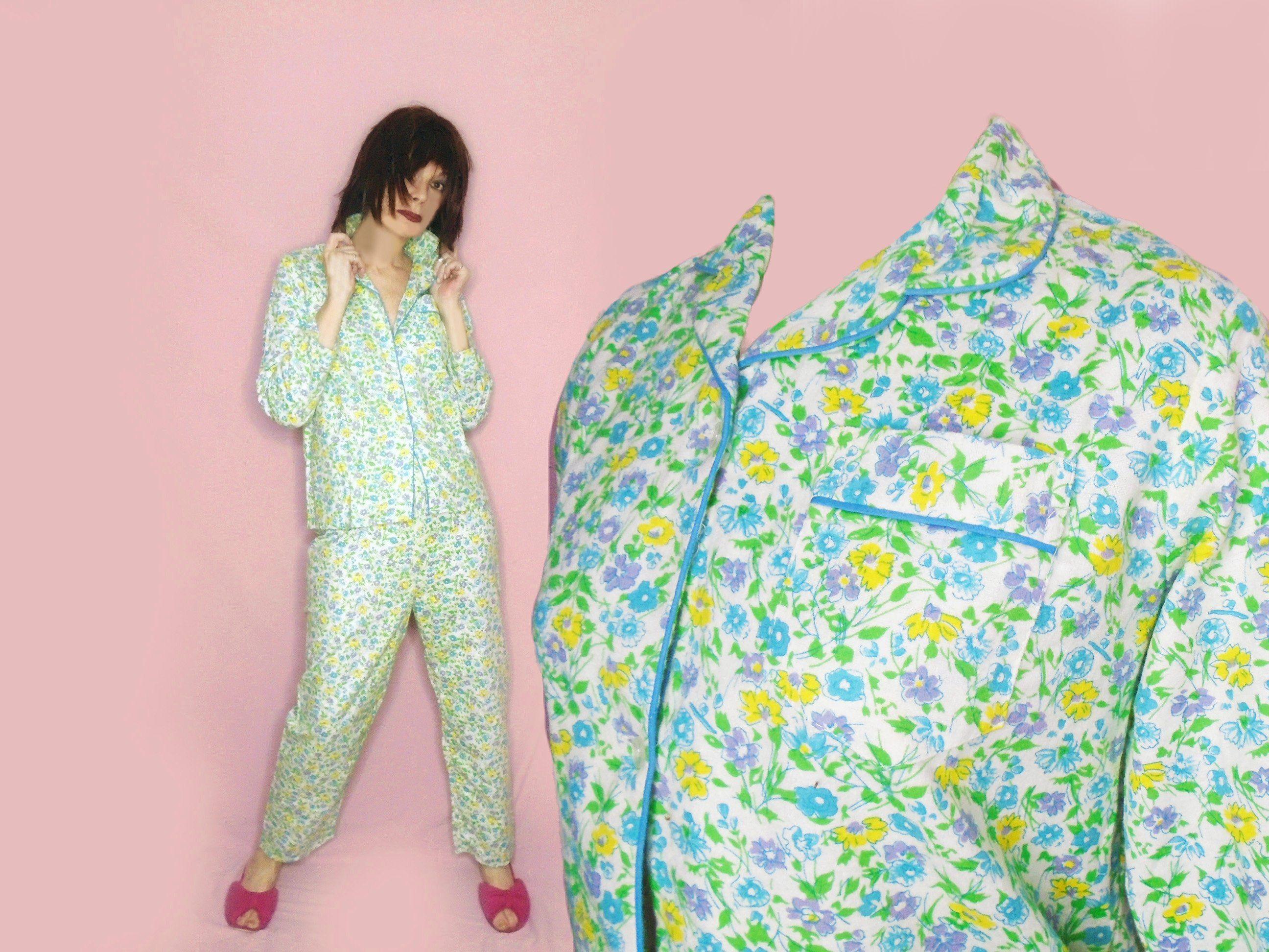 0a572b8edbbc Vintage Flannel Pajamas