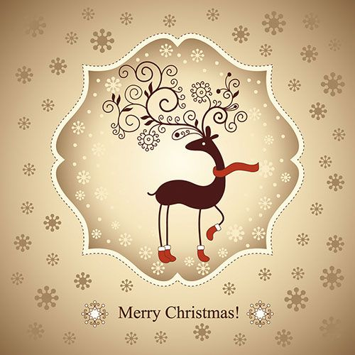 35 Best Free Christmas Icons, Vectors, PSD \ Greeting Cards for - christmas card word template
