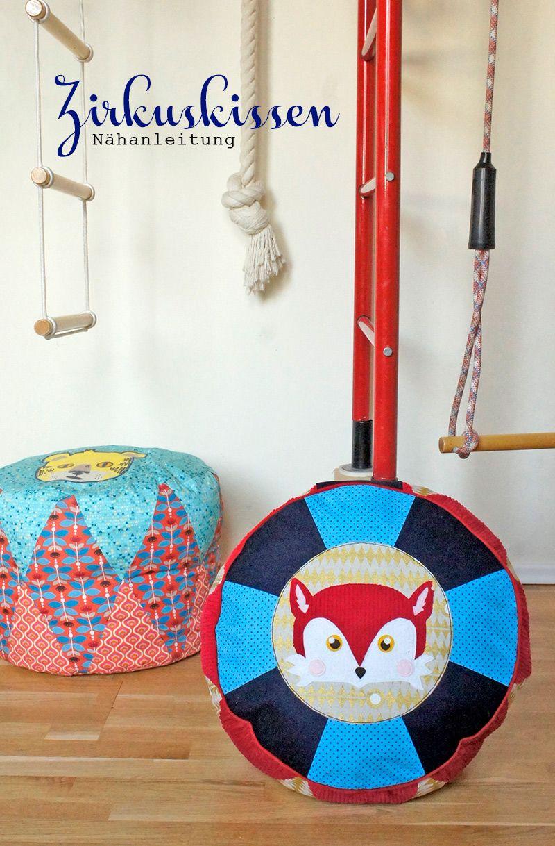 Zirkuskissen   Sew baby and Craft