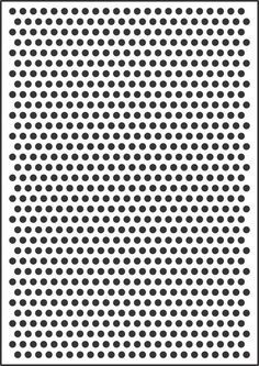 pre printed benday dot paper for popart 8mm polka dot template