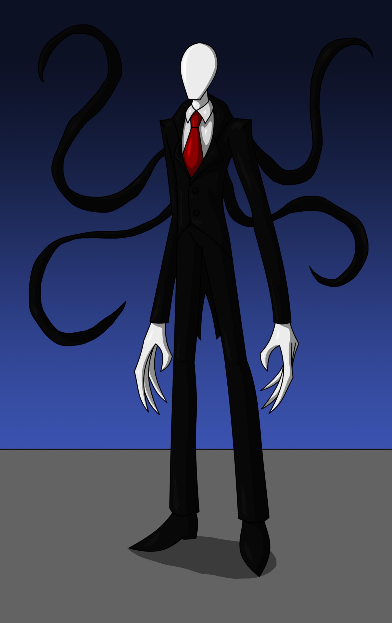 slender man cartoon slender man by araghen fan art